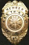 NAS Twin Cities Fire Department Badge