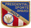 Presidential Sports Award - Golf
