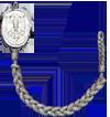 Schutzenschnur Silver